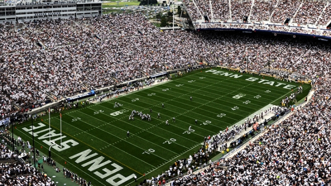 Penn State Reveals Beaver Stadium Upgrade