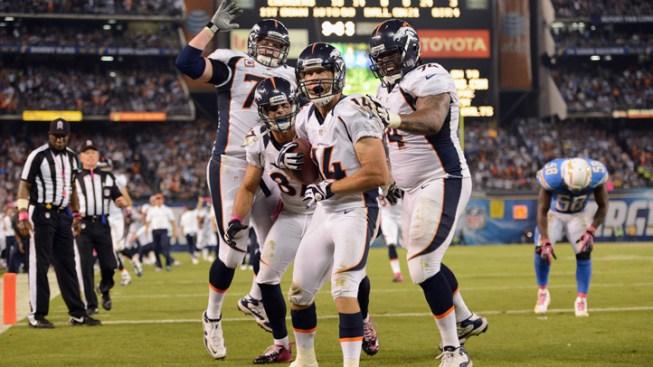 Manning's 3 T.D. Passes Spur Bronco's Comeback