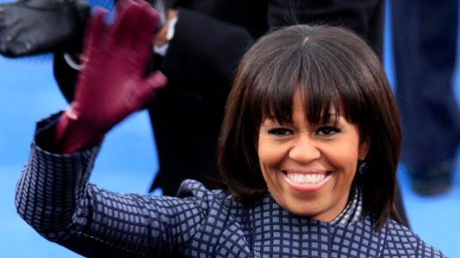 "Michelle Obama: Bangs Are ""My Midlife Crisis!"""