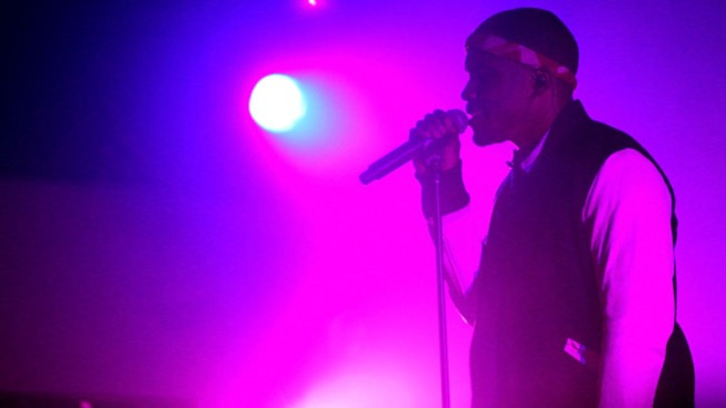 Grammy Nominee Frank Ocean Performs at Levi Event