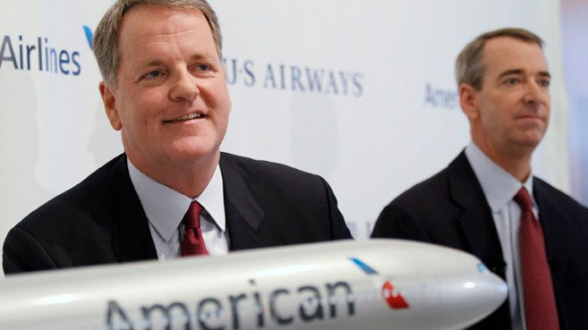 Judge Approves American-US Air Merger, Not CEO's $20M Severance