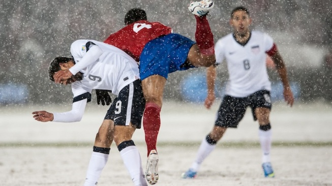 Snow Job: Americans Beat Costa Rica 1-0 in Storm