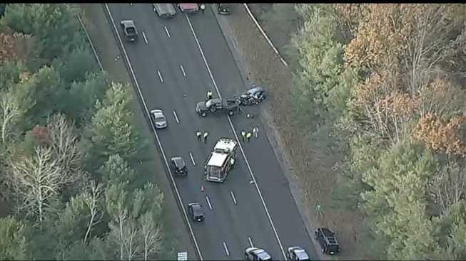 1 Hurt in I-495 Crash