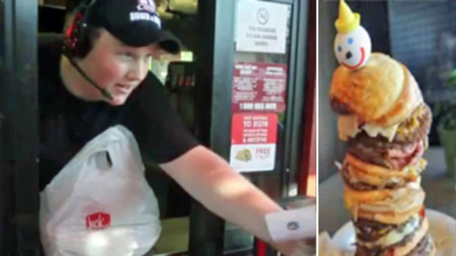 WATCH: Man Orders World's Most Expensive Fast-Food Burger