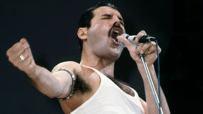 "Freddie Mercury ""Optical Illusion"" Performs with Queen"