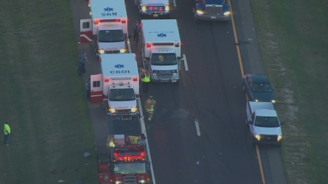 Multiple Injuries Reported in AC Expressway Crash