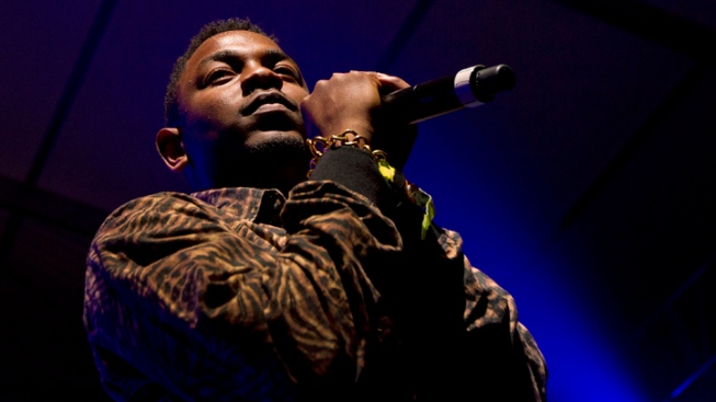 Rising Rapper Kendrick Lamar Lights Up Bonnaroo