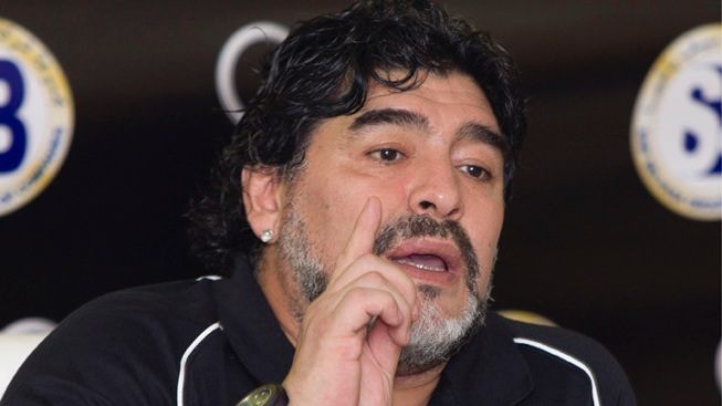 Maradona Stays in Dubai as Sports 'Ambassador'