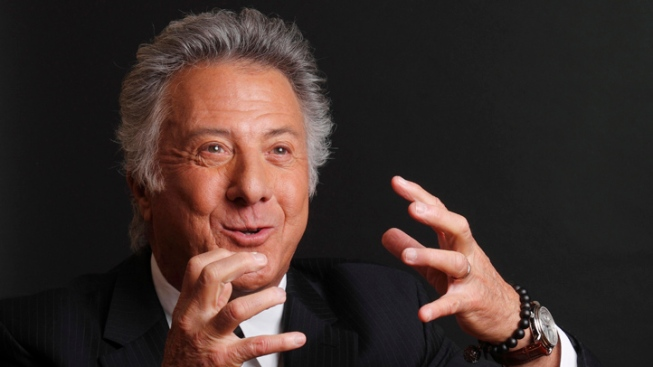 Dustin Hoffman Saves U.K. Jogger's Life
