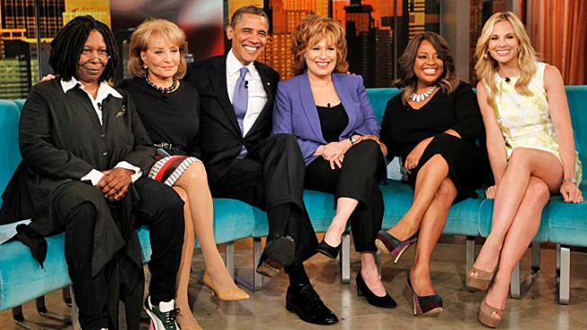 """The View"" Tests Obama's Pop Culture Mettle"