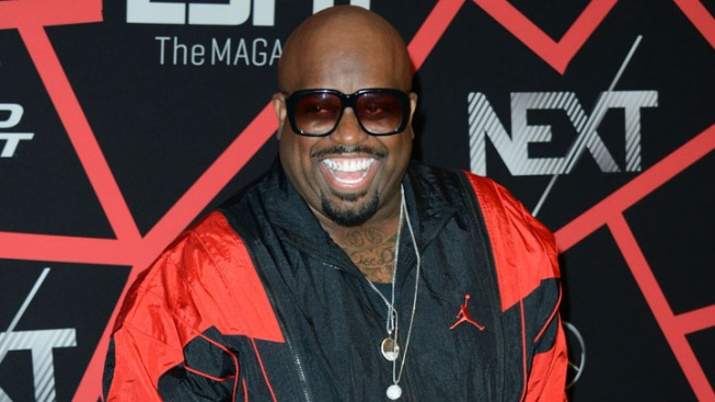 CeeLo, Kyle Bush, others party for Super Bowl