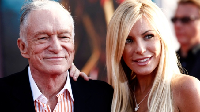 Hugh Hefner and Crystal Harris Get Married at Playboy Mansion