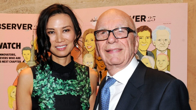 Rupert Murdoch, Wife Reach Divorce Deal