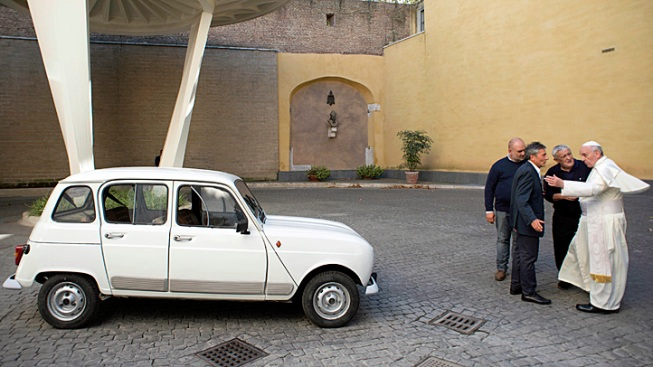 Pope Francis Gets a New Popemobile: A Used Car