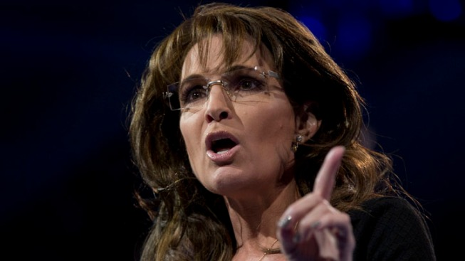 Palin: 'Eyes of America' on NJ Senate Race