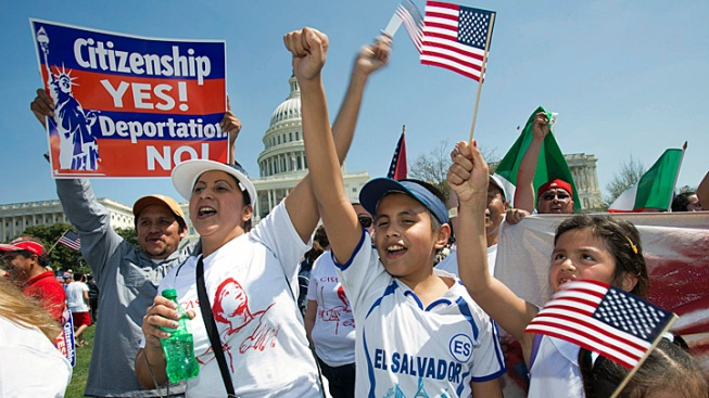 Thousands Rally for Immigration Reform Nationwide