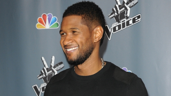 Usher Gets Ready for Role as Sugar Ray Leonard