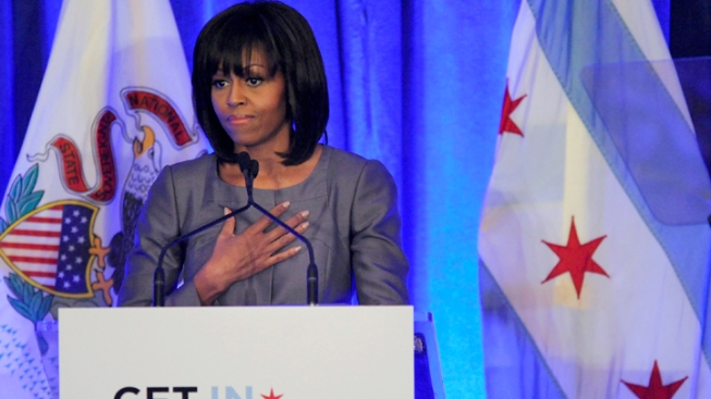 """First Lady to Chicago Youth: You Are """"Not Alone"""""""