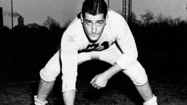 Old-Time Eagles Center Cherundolo Dies at 96