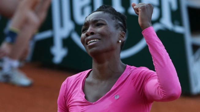 Venus Williams Loses in French Open's 1st Round