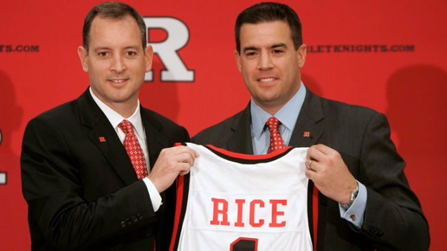 Former Rutgers AD Getting $1.2M, iPad