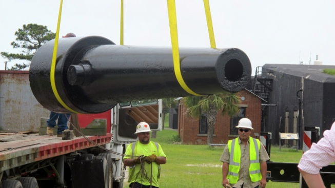 Civil War Cannons Preserved With New Technology - NBC 10