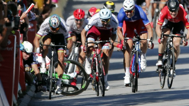 Tour de France Favorite Sagan Disqualified After Causing Crash