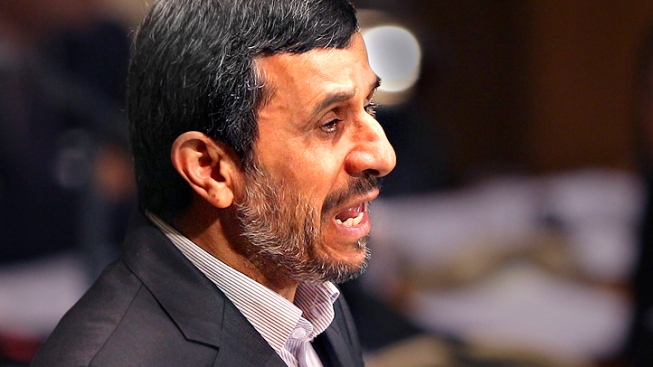 Ahmadinejad: Same Tough Talk, With Higher Stakes