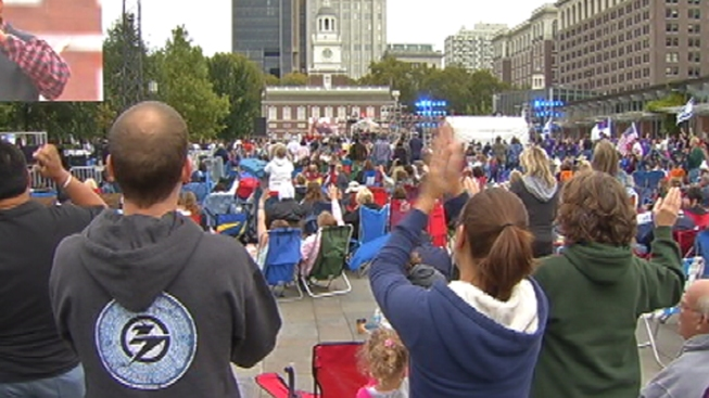 Thousands Pray for US at 'America for Jesus' Rally at Independence Mall