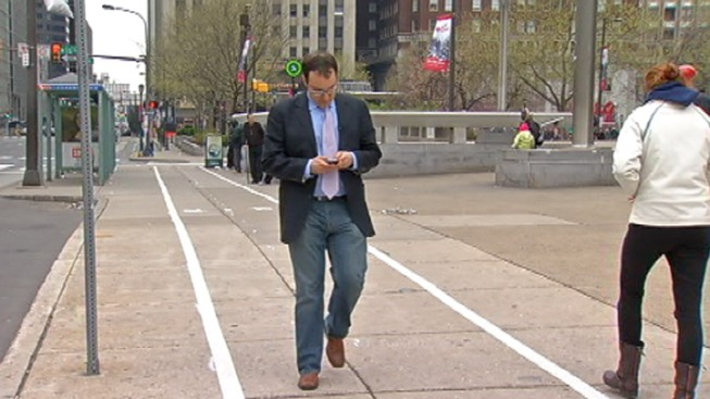 Philly Creates a Safety Campaign Aimed at Distracted Walkers