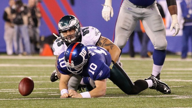 Young's Clutchness, Eagles D Lead to Victory