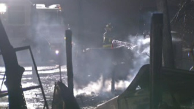 2 Dogs Dead, Cars Destroyed in Barn Fire