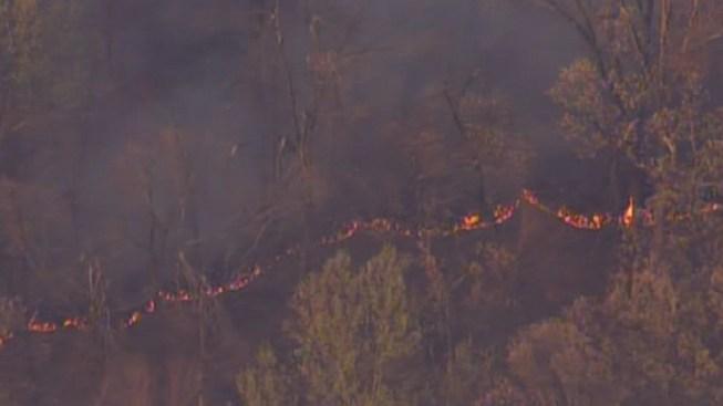 Berks County Brush Fire