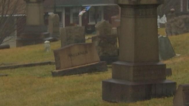 Vandals Target Graves at Bethlehem Cemetery: Cops