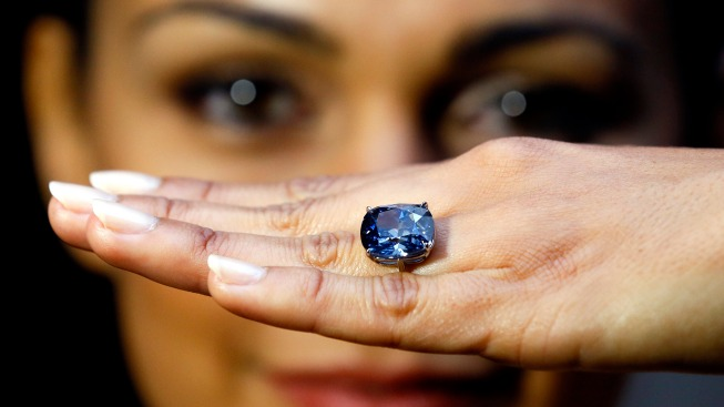 Rare Blue Diamond Sells for Record $48.5 Million at Auction