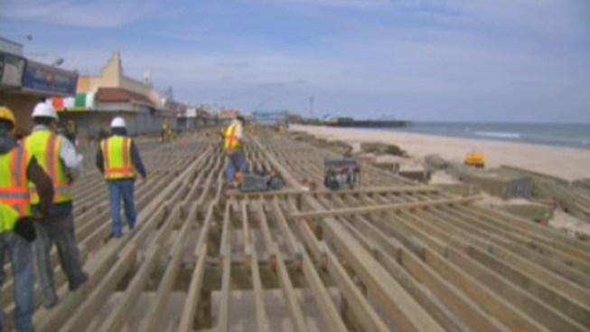 Jersey Shore Towns Race to Rebuild Boardwalks