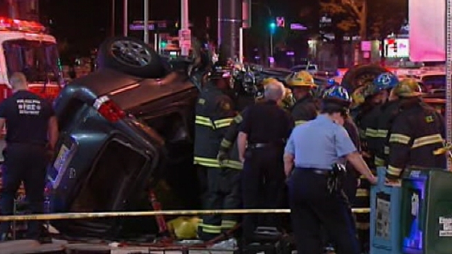 2 Dead in North Philly Crash