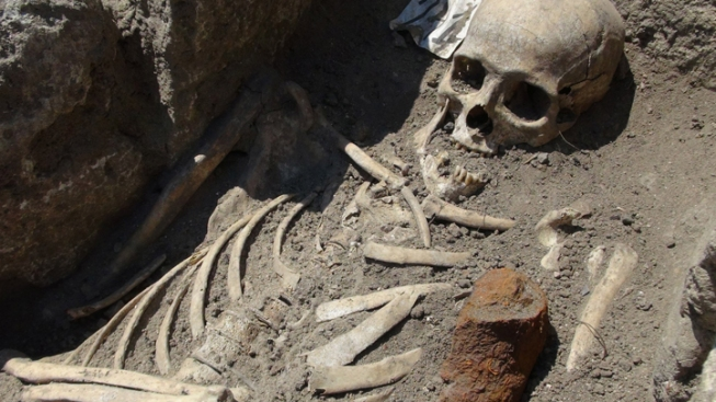 """""""Vampire"""" Skeletons Unearthed in Bulgaria"""
