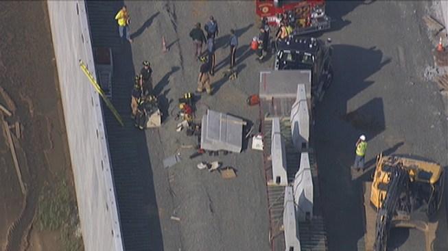 Worker Trapped Under Concrete Dies