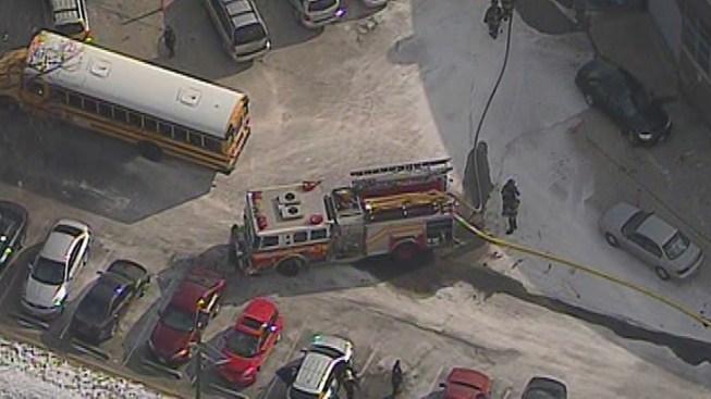 Fire Evacuates Camden High School