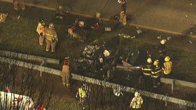Child Dies, 3 Hurt in Bucks Co. Crash