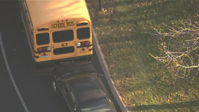 Student Hurt in School Bus Crash