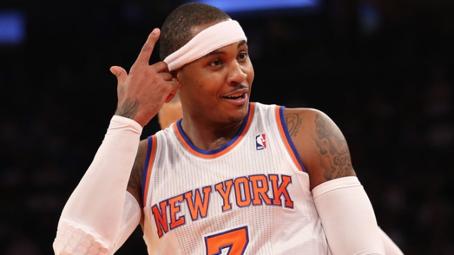 Melo, Knicks Drop Sixers