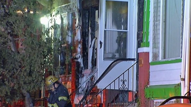 Accused New Year's Shooter's House Catches Fire