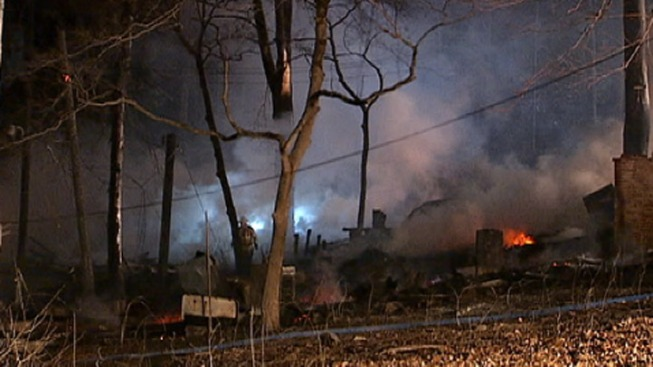 9 Buildings Damaged At Chester Heights
