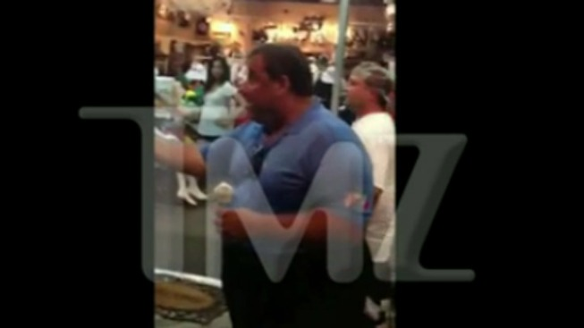 Caught on Cam: Christie Argues With Man on Boardwalk