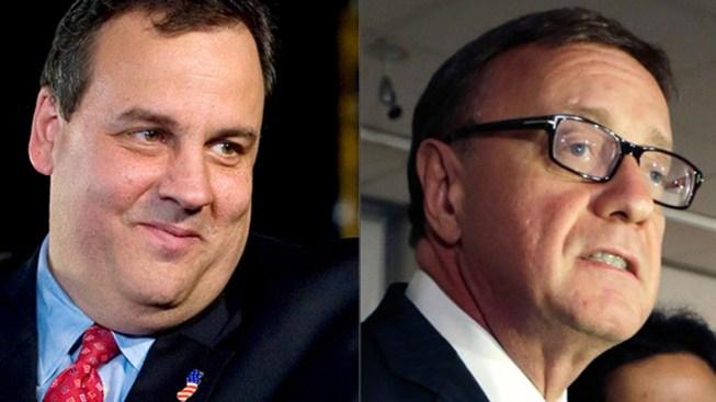 Christie 'Proud' to Have Lonegan Run for US Senate