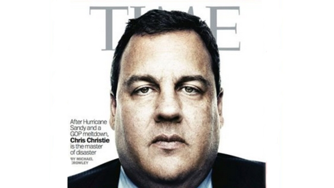 Chris Christie, 'Master of Disaster,' on TIME Cover