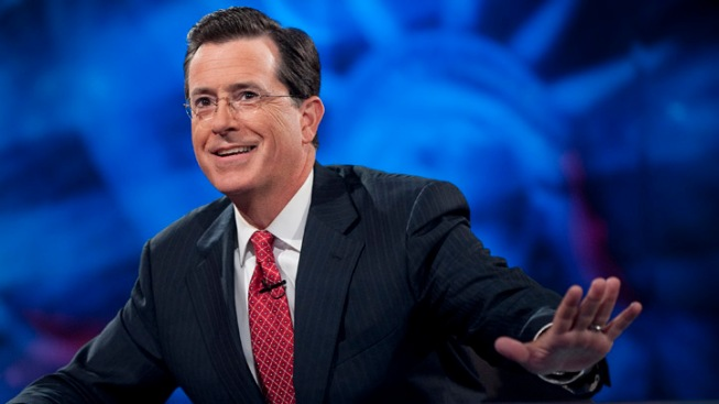 "Stephen Colbert Debuts ""Downton Abbey Breaking Bad"""