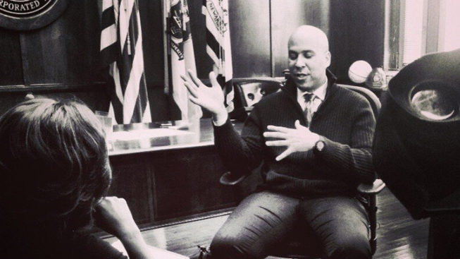 "Mayor Cory Booker: ""America's Most Famous Politician""?"